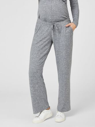 LOOSE JERSEY MATERNITY TROUSERS