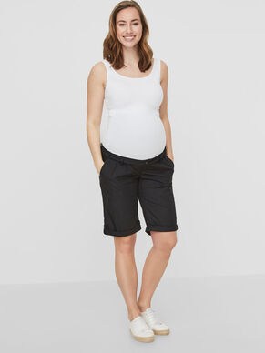 BERMUDA MATERNITY SHORTS