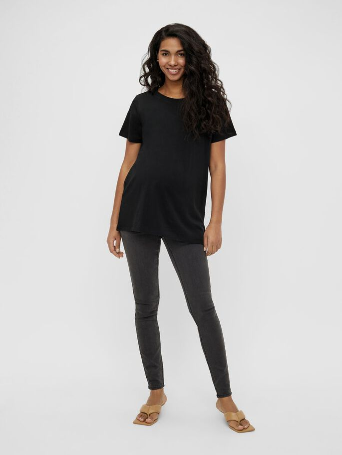 MLSIA MATERNITY TOP, Black, large