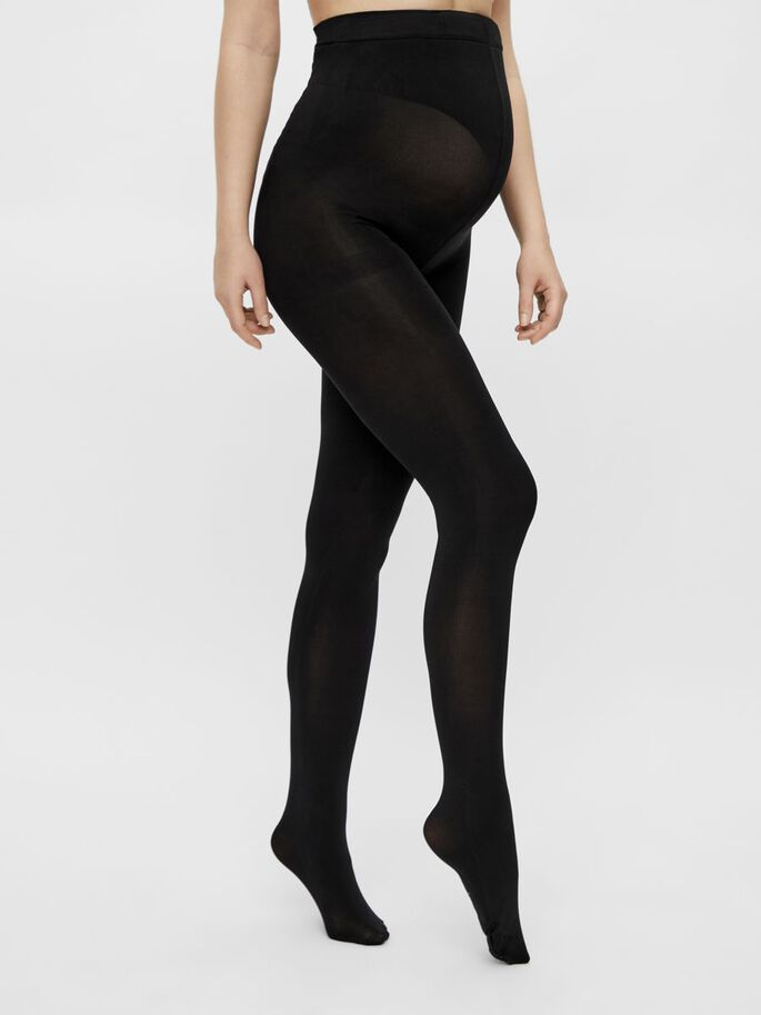 MLCALY 2-PACK 100 DEN MATERNITY TIGHTS, Black, large