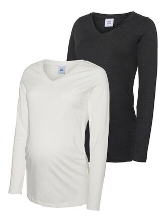 2-PACK LONG SLEEVED MATERNITY TOP