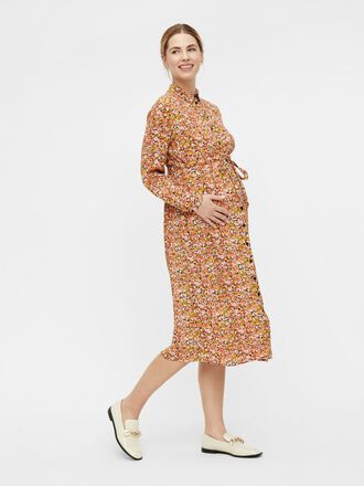 PCMLEONA MATERNITY SHIRT DRESS