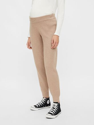 KNITTED LOOSE FIT MATERNITY TROUSERS