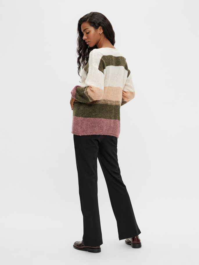 MLHARMONY KNIT MATERNITY PULLOVER, Dusty Olive, large