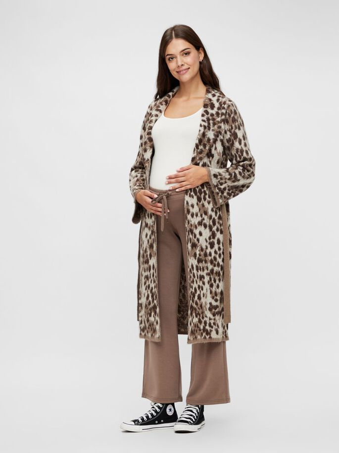 WIDE LOUNGE MATERNITY TROUSERS, Falcon, large