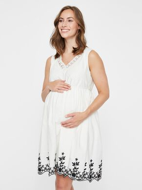 c83de814192 WOVEN MATERNITY DRESS