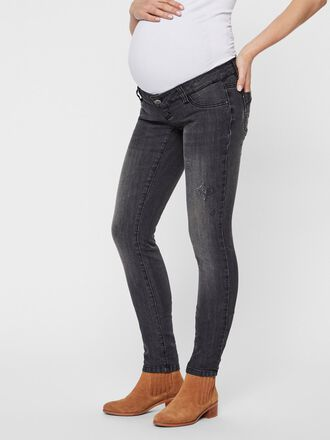 WASHED MATERNITY JEANS