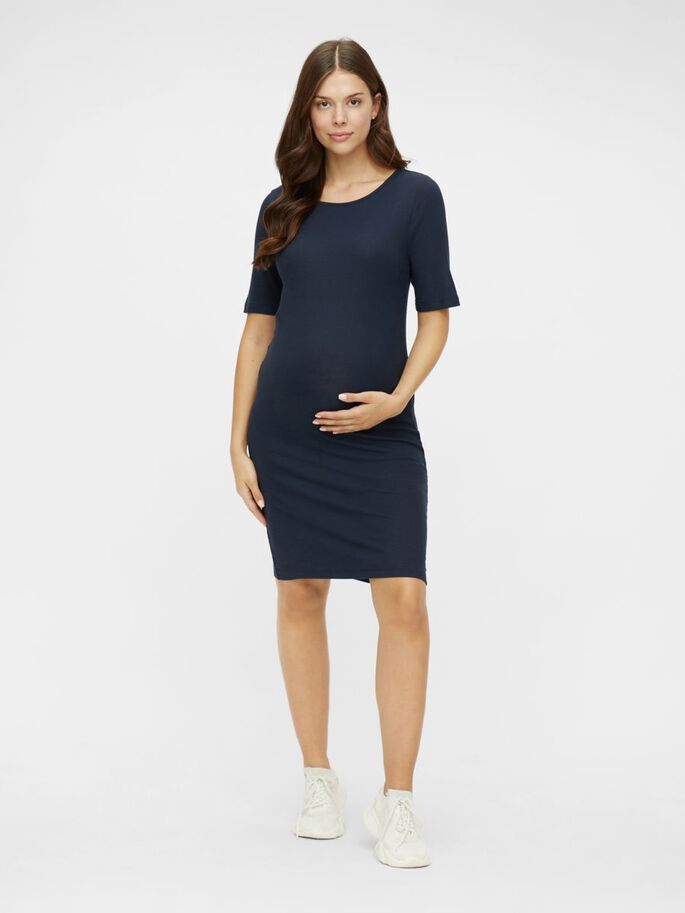MLSANNY MATERNITY DRESS, Navy Blazer, large