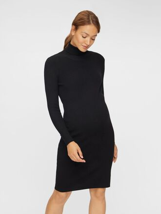 MLJACINA ROLL NECK MATERNITY DRESS
