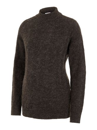 MAILLE COL MONTANT PULL DE GROSSESSE