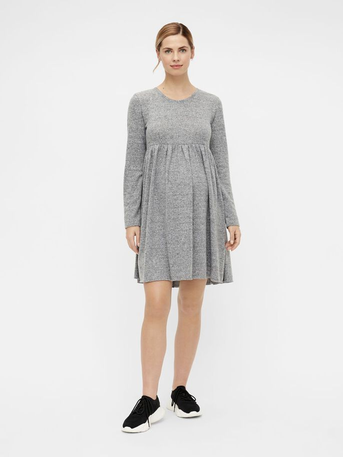 MLCAILA MATERNITY DRESS, Grey, large