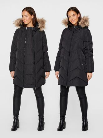 PADDED DOWN 2-IN-1 MATERNITY COAT