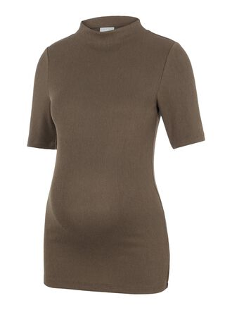 MOCK NECK MATERNITY TOP