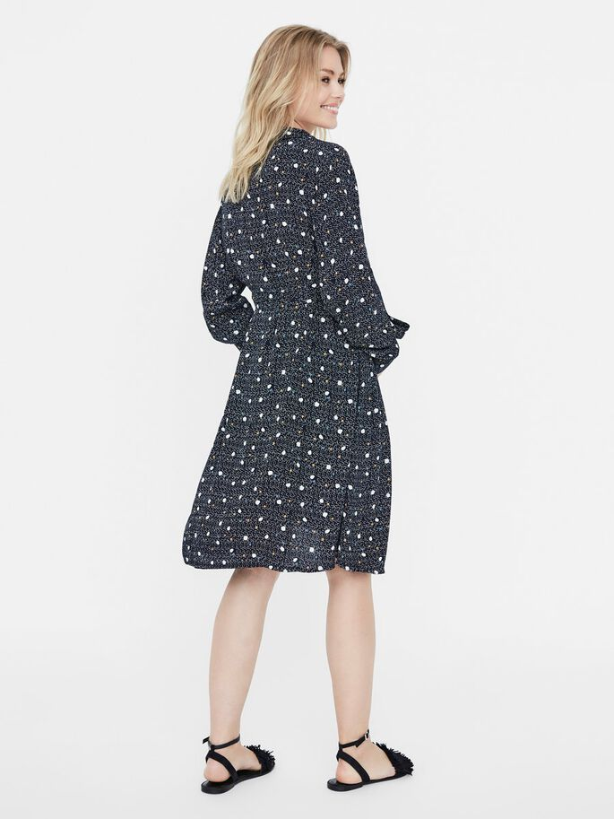 DOTTED MATERNITY DRESS, Salute, large