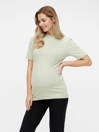 PCMBIRDIE HIGH-NECK MATERNITY T-SHIRT