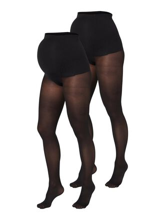 MLSABINE 2-PACK 50 DEN MATERNITY PANTYHOSE