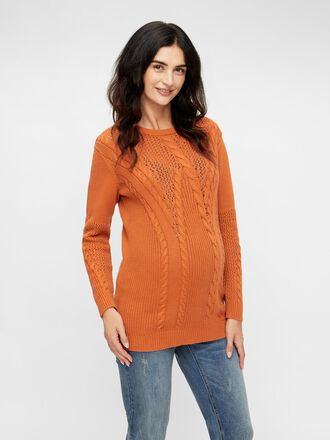 KNITTED MATERNITY PULLOVER