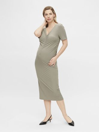 MLNICOLE MATERNITY MIDI DRESS
