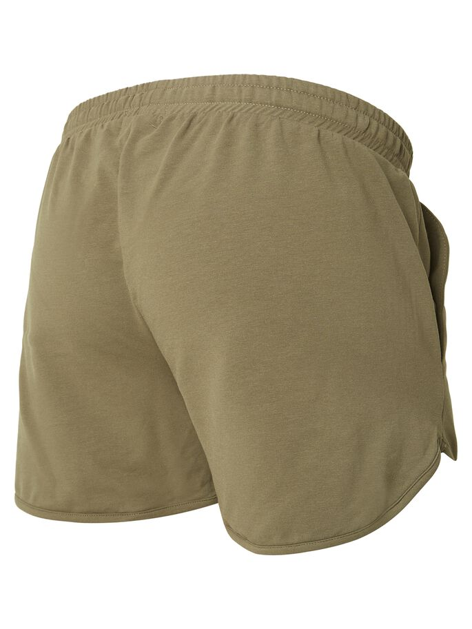 JERSEY MATERNITY SHORTS, Ivy Green, large