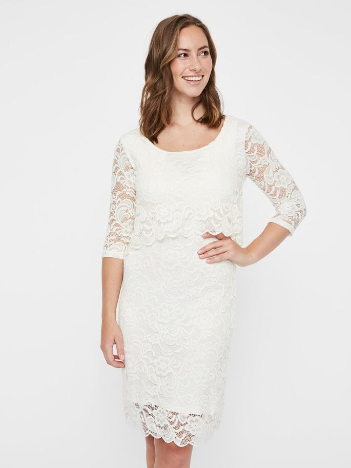 LACE NURSING DRESS, Snow White, large