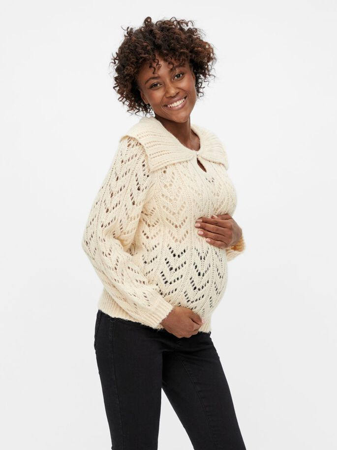 PCMFRIDA MATERNITY PULLOVER, Dawn, large