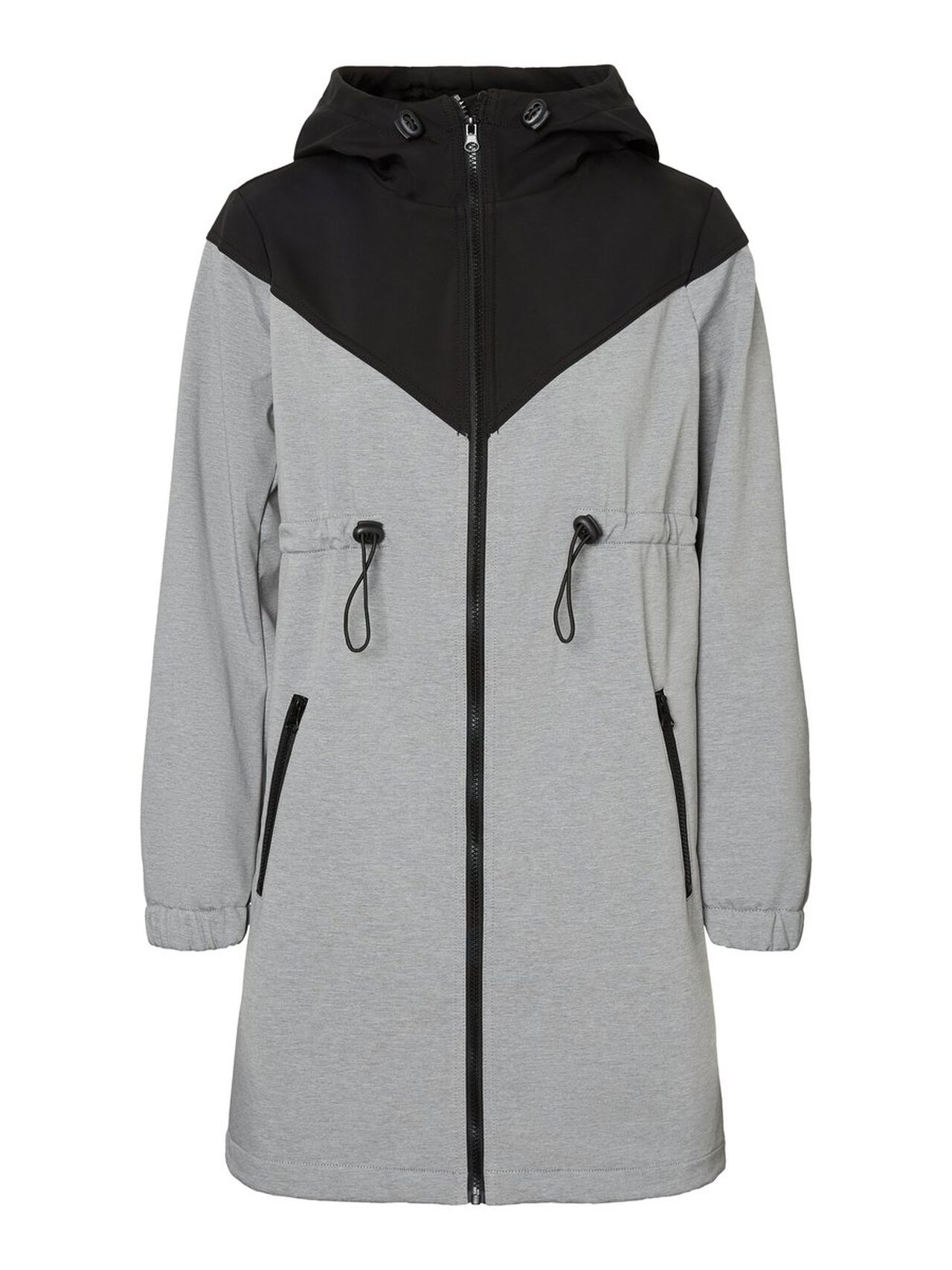 MAMA.LICIOUS 2 In 1 Softshell Coat Women Grey