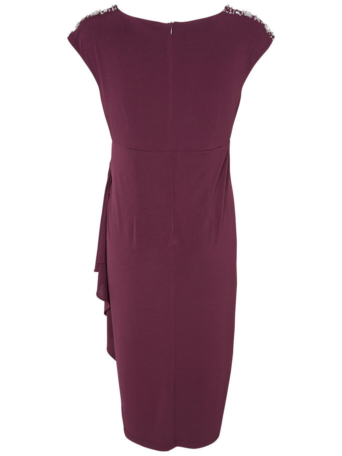 SLIM MATERNITY DRESS, Potent Purple, large