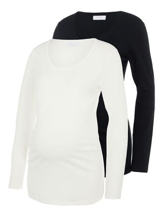 2-PACK MATERNITY TOP, LONG SLEEVED