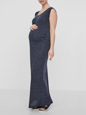 JERSEY MATERNITY DRESS, LONG