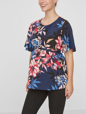 PRINTED MATERNITY TOP