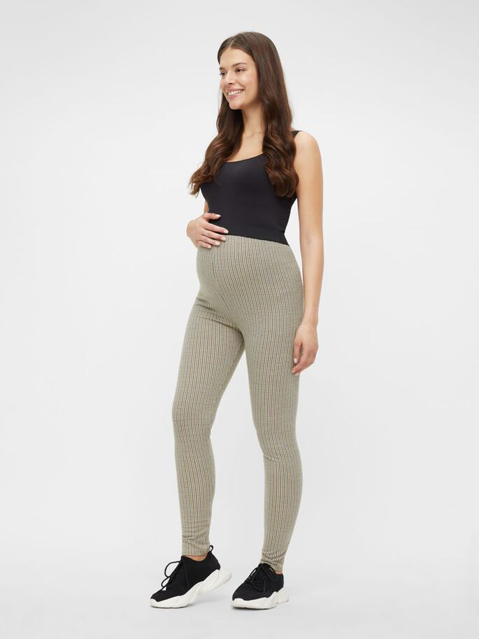 MLSIBEL LEGGINGS GROSSESSE, Oatmeal, large