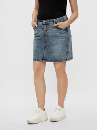 MLCHESTER DENIM MATERNITY MINI SKIRT