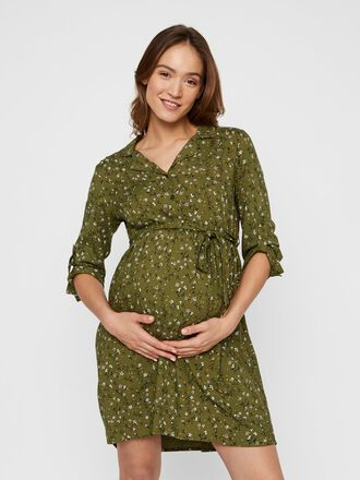 MLLEVETTA FLORAL 2-IN-1 MATERNITY DRESS