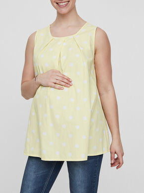 DOTTED MATERNITY TOP