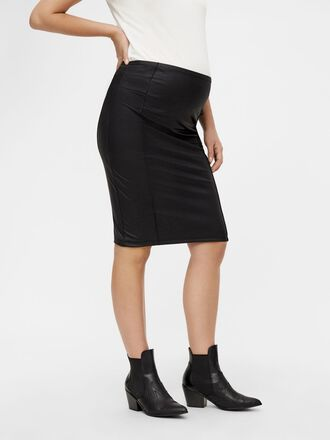COATED BODYCON MATERNITY SKIRT
