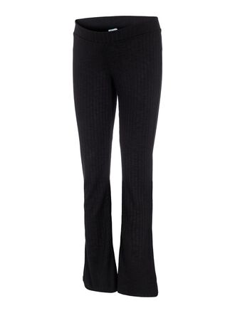 FLARED MATERNITY TROUSERS