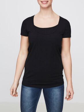 2-PACK BASIC NURSING TOP, SHORT SLEEVED