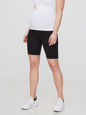 ELASTIC MATERNITY SHORTS