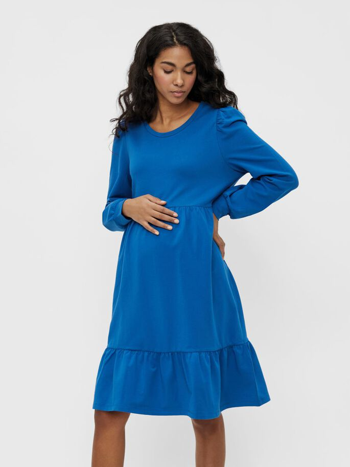 MLCARLY COUPE AMPLE ROBE GROSSESSE, Classic Blue, large