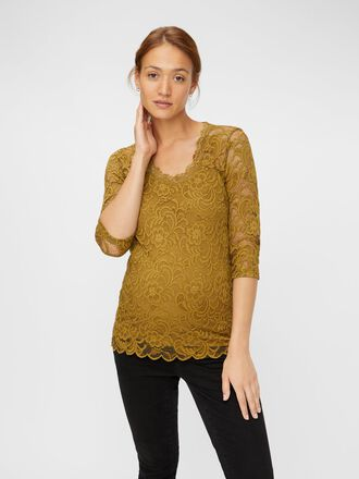 LACE MATERNITY TOP