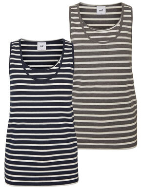2-PACK NURSING TOP, SLEEVELESS