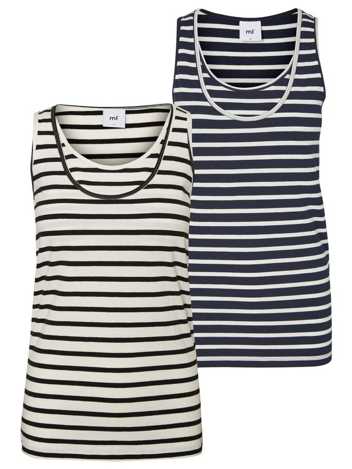 2-PACK AMME-TOP, Navy Blazer, large