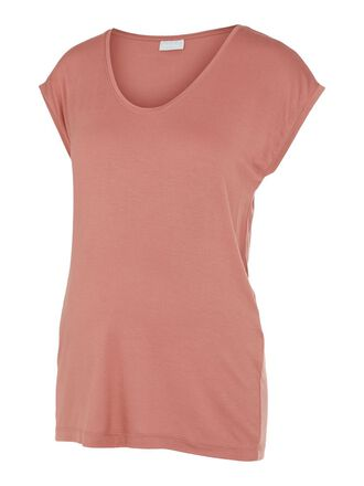 PCMBILLO SOLID MATERNITY T-SHIRT