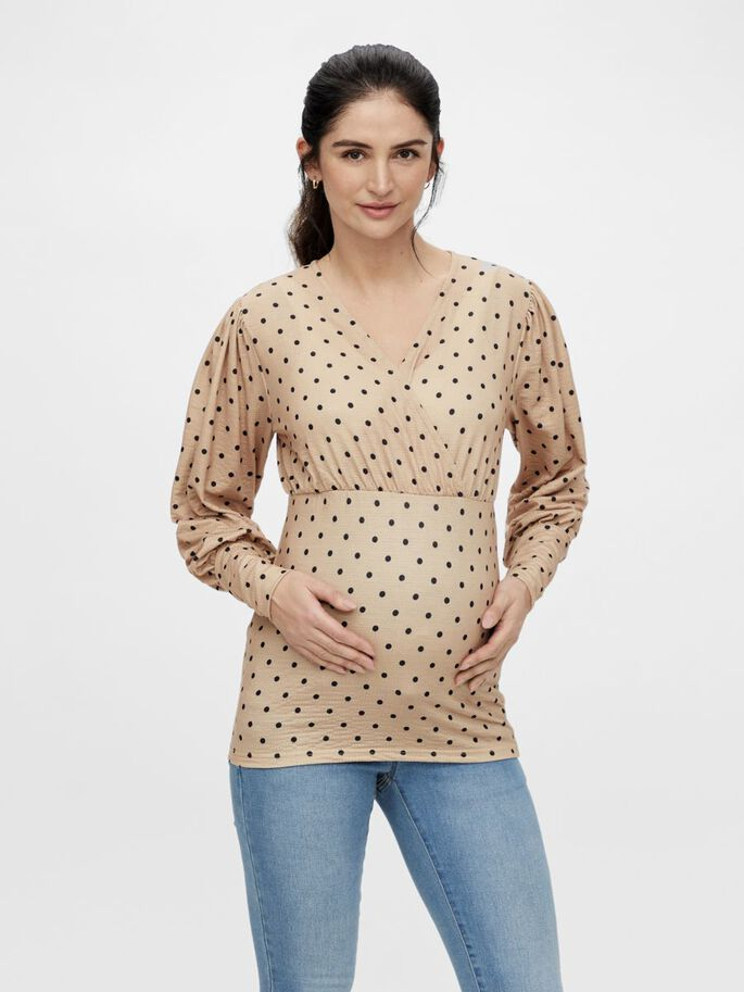 MLCELINA TOP DE GROSSESSE 2-EN-1, Nomad, large