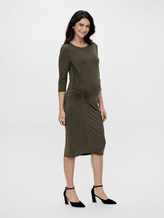 MLARIELLA MATERNITY MIDI DRESS