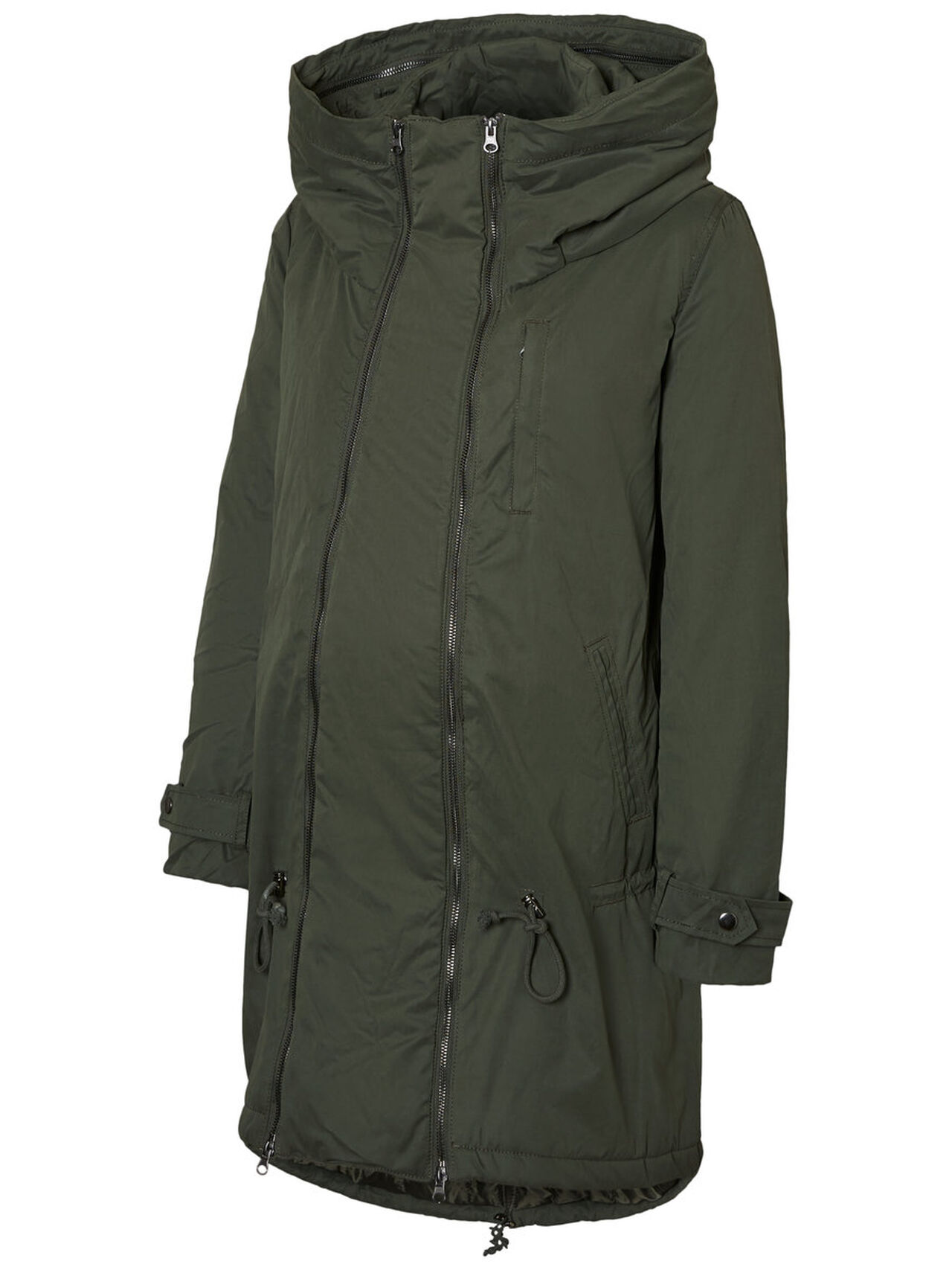 MAMA.LICIOUS 2-in-1 Padded Winter Maternity Coat Women Green
