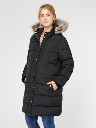 PADDED DOWN MATERNITY COAT