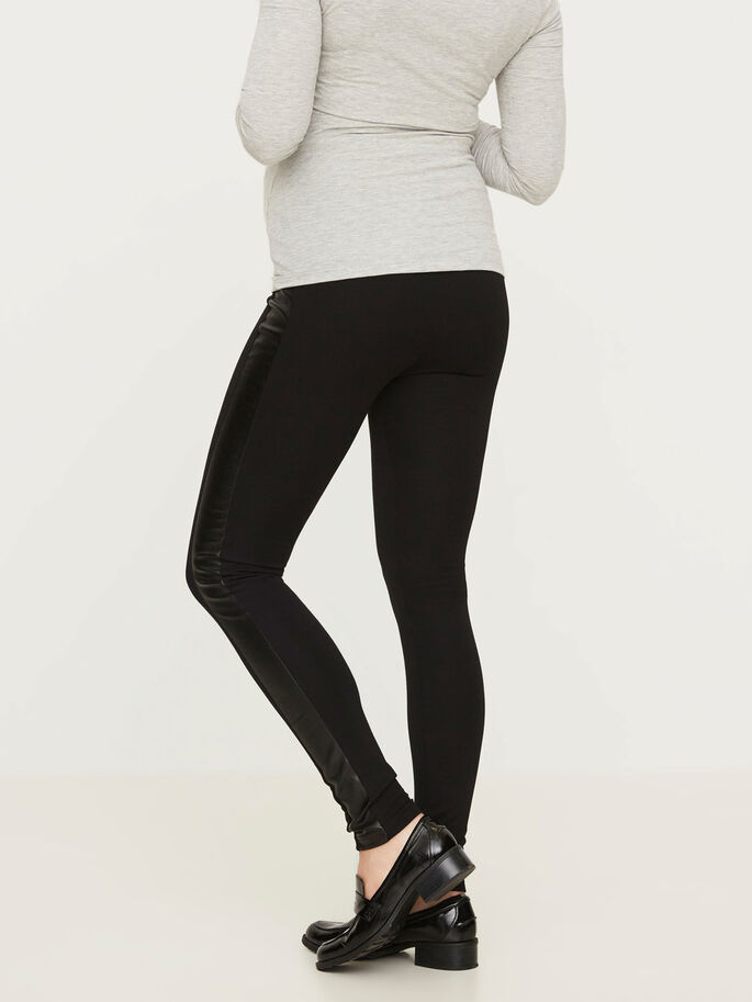 JERSEY- LEGGINGS, Black, large