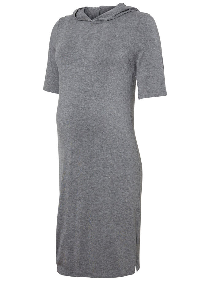 JERSEY ROBE GROSSESSE, Medium Grey Melange, large