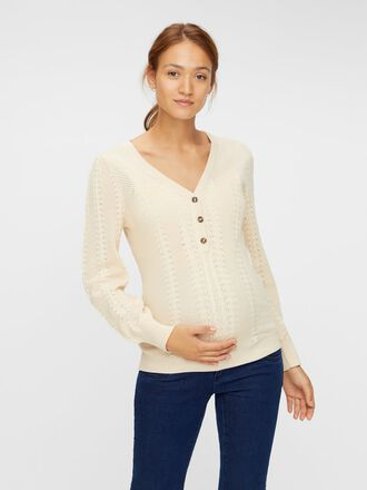 KNITTED 2-IN-1 MATERNITY TOP